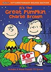 It's the Great Pumpkin, Charlie Brown Deluxe Edition (DVD)Will this Halloween be the one when the Great Pumpkin comes? Longtime believer Linus thinks so, and keeps watch all night in the pumpkin patch to welcome him. Charlie Brown gets into t...