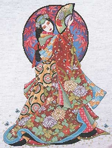 Design Works Counted Cross Stitch Kit Oriental Wisdom by Design Works