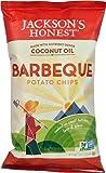 Jackson's Honest Coconut Oil Potato Chips Barbeque -- 5 oz - 2 pc