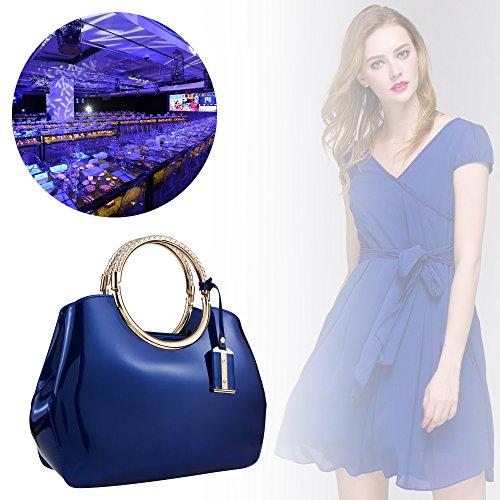 Bagood Bagood Bleu femme femme pour Pochette Bleu pour Bagood Pochette qrqvaAx