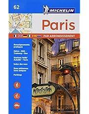 Michelin Paris by Arrondissements Pocket Atlas #62