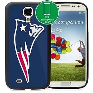 NFL American football New England Patriots Samsung Galaxy S4 SIV I9500 TPU Soft Black or White case (Black) by supermalls
