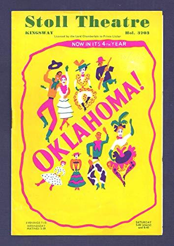 "Rodgers & Hammerstein""OKLAHOMA!"" Alfred Cibelli/Stoll Theatre 1950 London Playbill"
