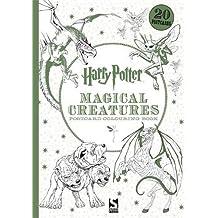 Harry Potter Magical Creatures Postcard Book: 20 postcards to colour