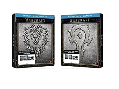 Amazon.com: Warcraft Limited Edition Dual-Sided Steelbook ...