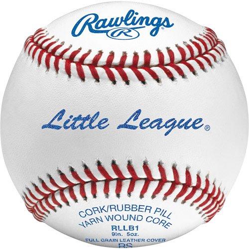 (Rawlings Official Little League Baseball of Minors and Majors Division. RLLB1 Competition Grade Regular Season (RS) Ball.)