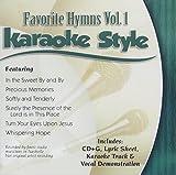 Music : Karaoke Style: Favorite Hymns, Vol. 1
