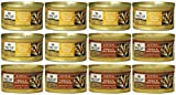 nutro max canned cat food - Nutro Max Cat Canned Kitten Food 2 Flavor Variety Bundle: (6) Chicken & Ocean Fish Formula and (6) Chicken & Liver Formula, 3 Oz Each (12 Cans Total)