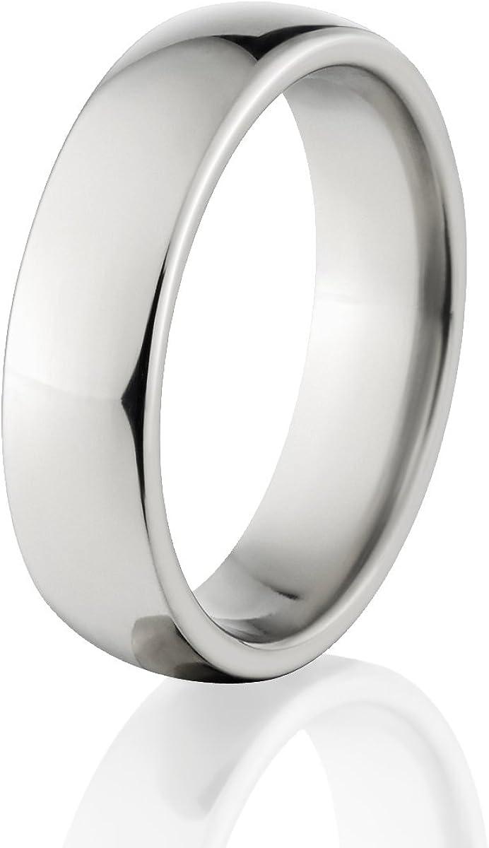 Titanium 5mm Brushed Mens Wedding Ring Band Sz 12.5