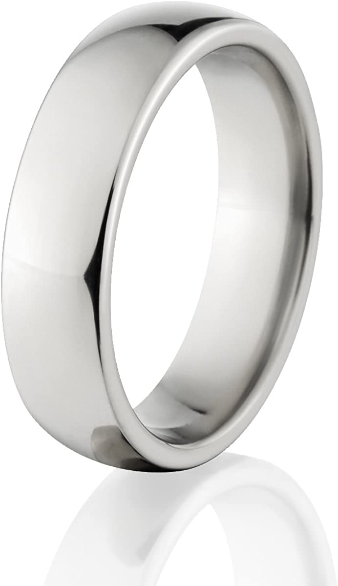 Titanium Mens Rings Made In The USA - Titanium Wedding Bands for Men