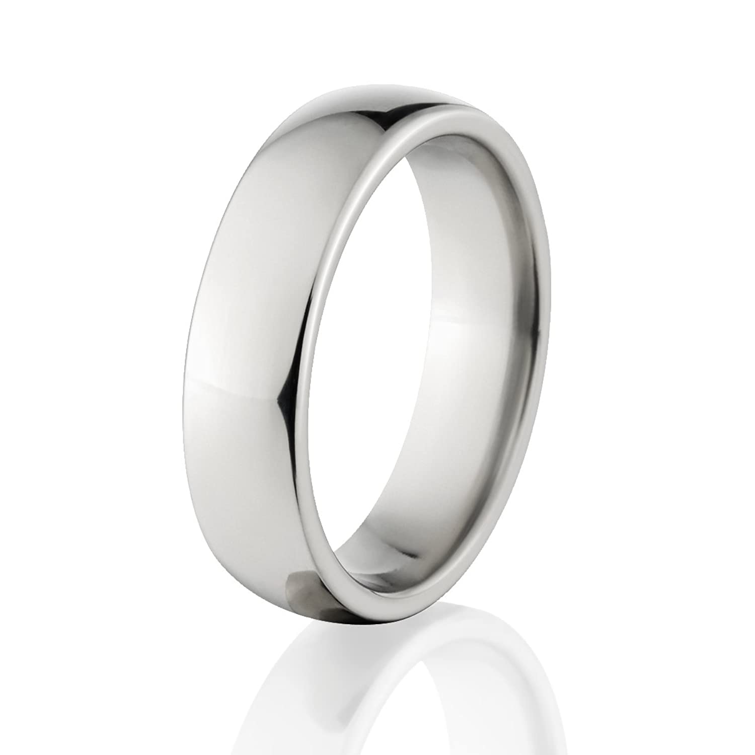 Titanium Mens Rings Made In The USA   Titanium Wedding Bands For Men |Amazon.com