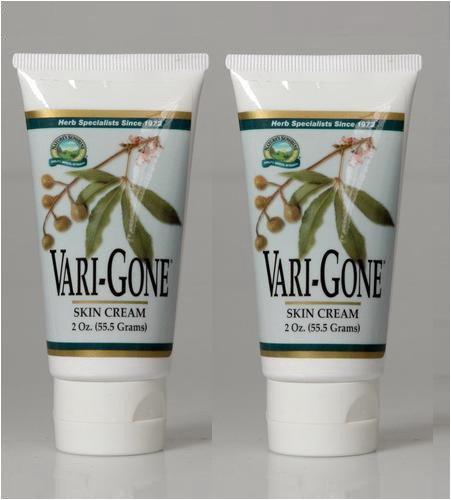 Natures-Sunshine-Vari-Gone-Cream-herbal-combination-appearance-of-varicose-veins-2-oz-tube-Each-Pack-of-2