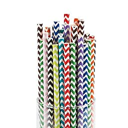 Mega Chevron Straw Assortment 2 units