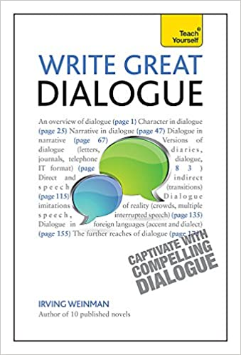 amazon write great dialogue teach yourself writing irving