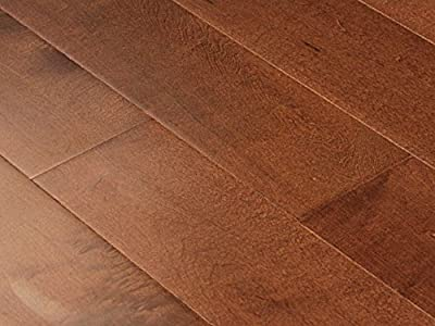 """One Carton Of 37SQFT AMERIQUE Prefinished Engineered Canadian Maple Floor Amber Color, Premium Grade, 5""""x9/16""""xRL with 3MM Top Layer (One Carton)"""