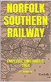 NORFOLK SOUTHERN RAILWAY: EMPLOYEE TIMETABLE 2, 1964