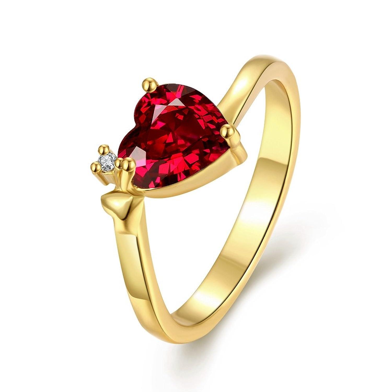 Women Crown Crystal Ring Rhinestone Princess Ring Intl