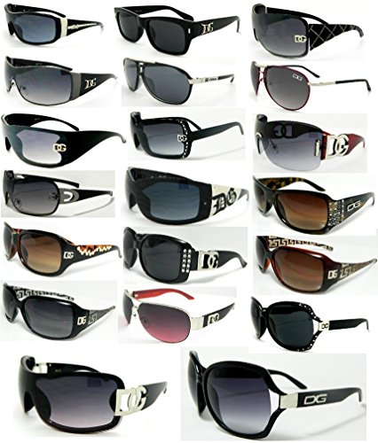 DG-Sunglasses-Lot-Of-6-ASSORTED-Colors-and-Styles-Below-Wholesale-Prices-Pre-Selected