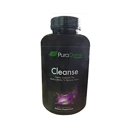 Puradyme Herbal Colon Cleanse and Detox Dietary Supplement – 225 Capsules. By Lou Corona