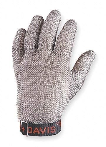 North by Honeywell A515M D Whiting + Davis A515 Stainless Steel Mesh Ambidextrous Glove (1 Glove) [並行輸入品]  B07PLFC577