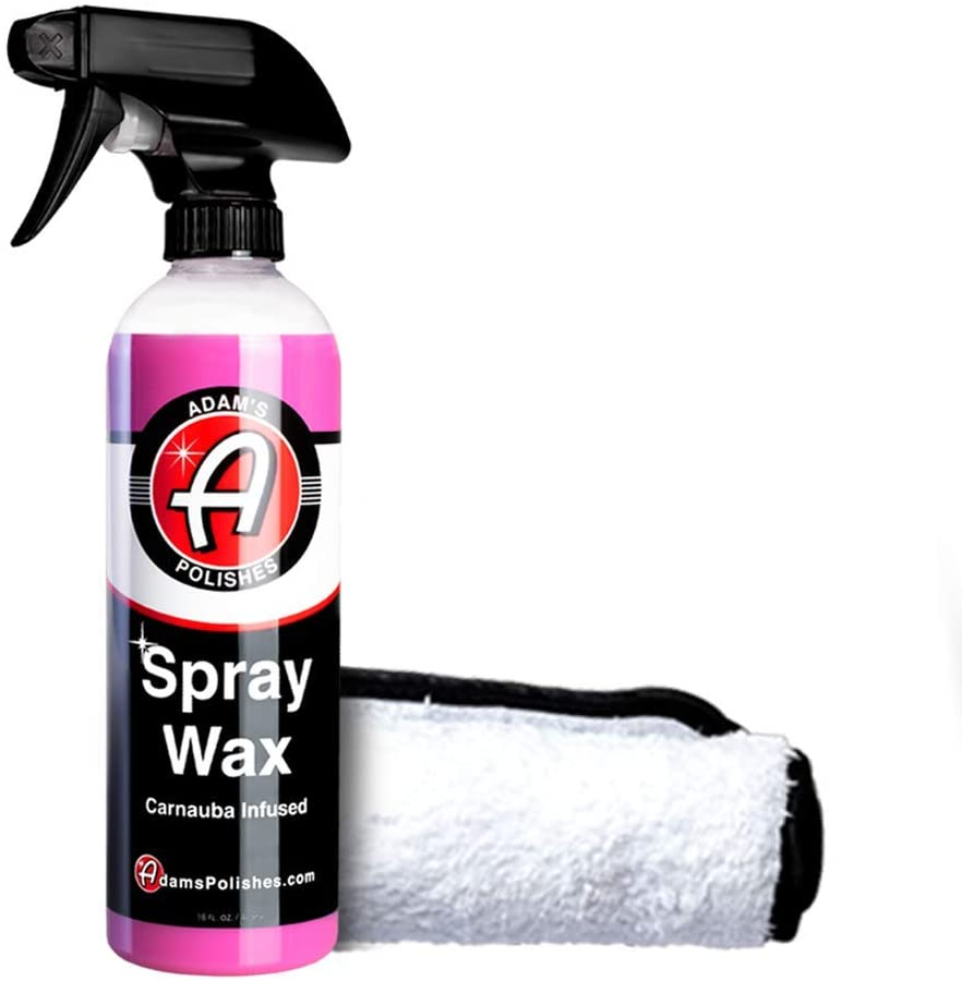 Adam's Polishes Carnauba-Infused Spray Wax