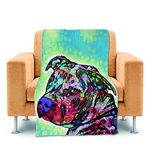 CafeTime Funny Art Pet Dog Design Home Throw Blankets Cute P