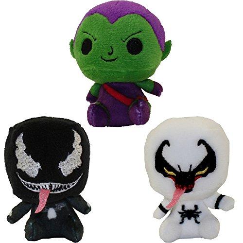 Funko Mystery Mini Plushes - Spider-Man Series 1 - SET OF 3 (Venom Plush)