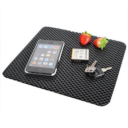 TOOGOO(R) Coche anti antideslizante Sticky Mat Pad Dash Dashboard Telefono movil GPS Nav