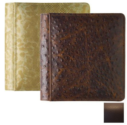 RODEO MOCHA #103 pebble grain leather 1-up 5x7 album by Raika - 5x7