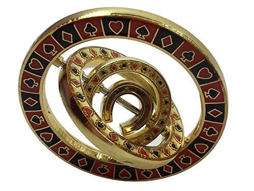 - Triple Spinner (with Horseshoe in center) Poker Weight
