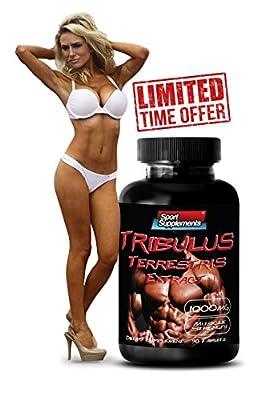 Increase sex drive for women - TRIBULUS TERRESTRIS PREMIUM EXTRACT 1000mg - Women Libido Pills - 1 Bottle 90 Tablets