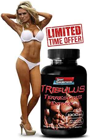 Increase Sexual Arousal - TRIBULUS TERRESTRIS EXTRACT 1000mg (with Standardized 400mg Natural Saponins) - Sexual Peak Performance - 1 Bottle 90 Tablets
