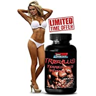 Increase sex drive in men - TRIBULUS TERRESTRIS EXTRACT 1000mg (with Standardized 400mg Natural Saponins) - Testosterone Booster For Men Sex - 1 Bottle 90 Tablets