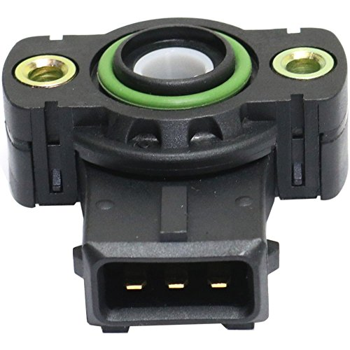 Bmw 525i Throttle - Throttle Position Sensor compatible with 91 BMW 525i Female Connector Blade type 3-prong male terminal