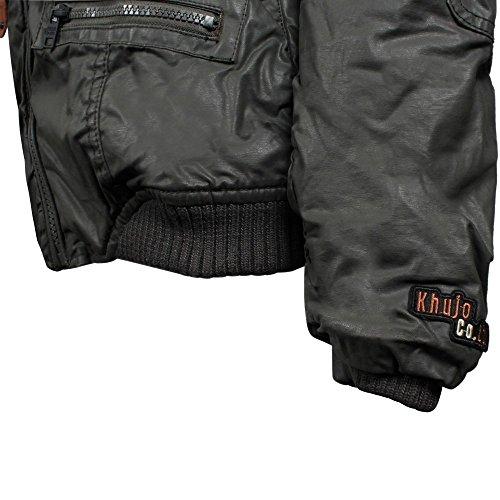 Khujo Bryanna chaqueta de invierno mud grey
