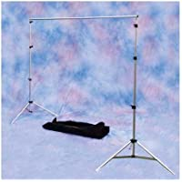 Interfit COR756 102  x 124 Inch Background Support System with bag (Black)