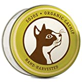 Sojos Hand-Picked 100% Organic Catnip, 1-Ounce Tin