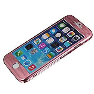 ABC(TM) Luxury Ultra-thin Aluminum Metal Full Body Case Cover Skin For iPhone 6 4.7'' (Pink)