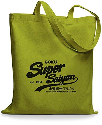 StyloBags Jutebeutel / Tasche Goku Super Saiyan Kiwi
