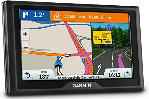 Garmin Drive 60 LMT EU Navigationsgerät (lebenslange Kartenupdates, Premium Verkehrsfunklizenz, 15,2cm (6 Zoll) Touchdisplay)
