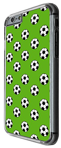 1485 - Cool Fun Trendy sports soccer football collage Design iphone 6 6S 4.7'' Coque Fashion Trend Case Coque Protection Cover plastique et métal - Clear