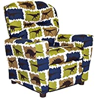 Brazil Furniture Cupholder Child Recliner - Stellar Rex