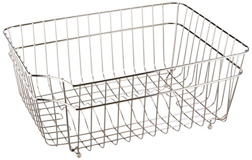 ALFI brand AB65SSB Steel Basket for Kitchen Sinks, Stainless by Alfi