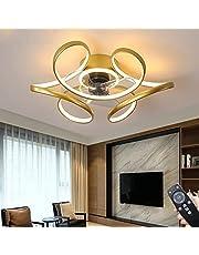 Plafondventilator Plafondlamp LED-ventilator Lamp Met Afstandsbediening Woonkamer Ventilator Kroonluchter Slimme Plafondlamp Verlichting Onzichtbare Slaapkamer Eetkamer Ventilatorlicht