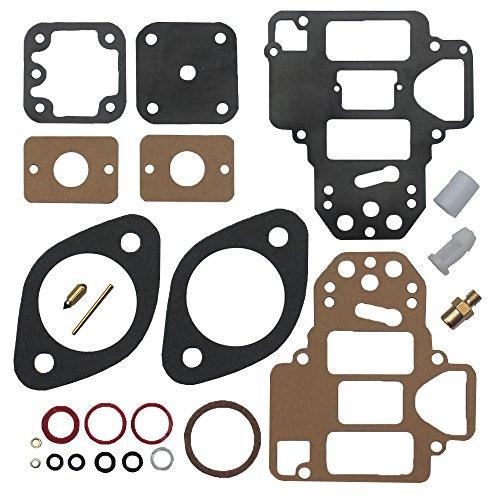 (KIPA Carburetor Carb Rebuild Repair Tune Up Kit For WEBER Redline 40 DCOE 45 DCOE 42 DCOE Replace Part # 92.3246.05 92.3246-05 92-3246-05 92324605)