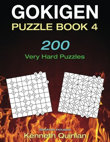 Gokigen Puzzle Book 4: 200 Very Hard Puzzles 200 Very Hard Puzzles