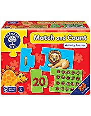 Orchard Toys Räkning av pusselspel Match and Count