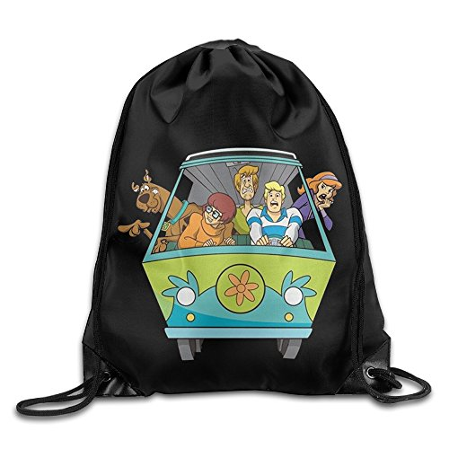 Scooby-Doo Kindred Nylon Basic Drawstring Tote Home Travel Sport Storage