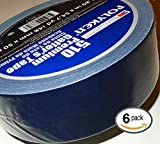 POLYKEN 510 Navy BLUE Gaffers Cloth Tape, 48mm x 50M x 11.5 mil