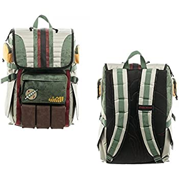 Bioworld Star Wars Boba Fett Laptop Backpack Standard
